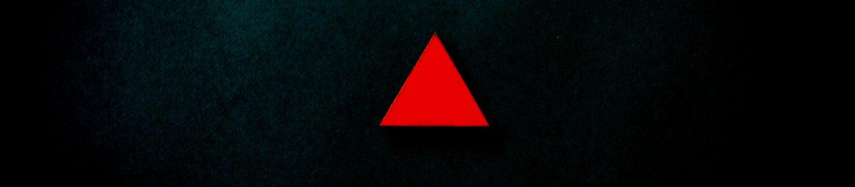 Kleines rotes Dreieck